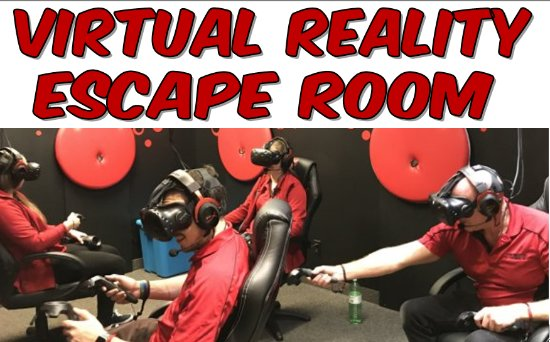 The Ultimate Escape: Work together in our virtual reality escape room!