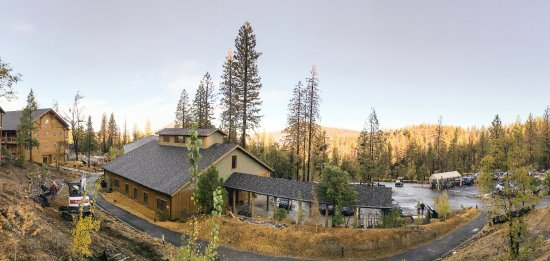 Rush Creek Lodge at Yosemite: View from our one bedroomed villa