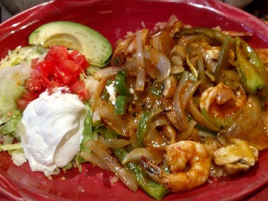 Northborough, Μασαχουσέτη: Shrimp with Rice