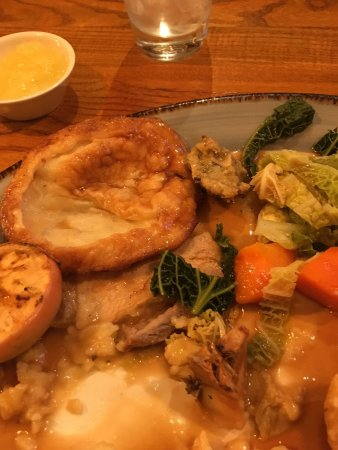 """Greasby, UK: """"Yorkshire pudding"""". Not convinced ..."""
