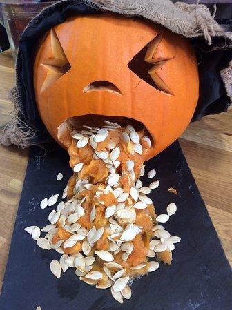 Halloween Shop Displays.Halloween Eerie Tour Restaurant Gift Shop Display Picture Of