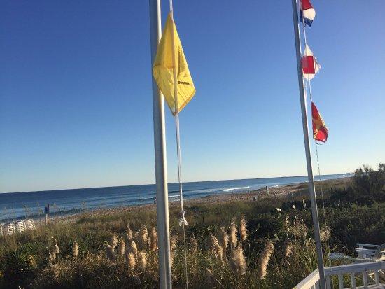 Blockade Runner Beach Resort: End of boardwalk and still tons of dunes!