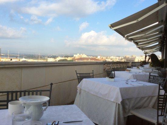 Some rooftop views from La Terrazza sul Mare - Picture of La ...