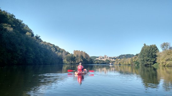 Carsac-Aillac, Francja: Beautiful scenery along the river