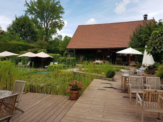 Nussdorf am Attersee, Austria: Pool Garten