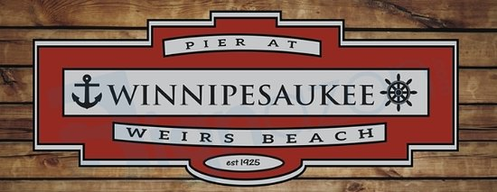 Weirs Beach, NH: New Pier Logo