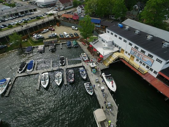 Weirs Beach, NH: All new Gas Docks.