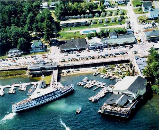 Weirs Beach, NH: Birds eye view View