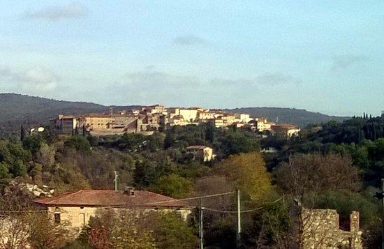 Rapolano Terme, إيطاليا: Vista dall'ingresso sul paese di Rapolano Terme