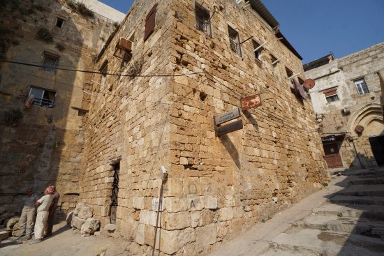 Tartus, Siria: One of the outer walls of the fortress