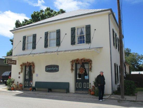 Castroville, Teksas: Old Standby Saloon.