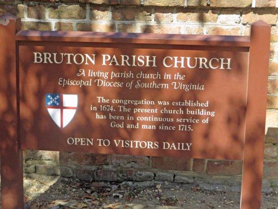 Bruton Parish Episcopal Church: A still active church