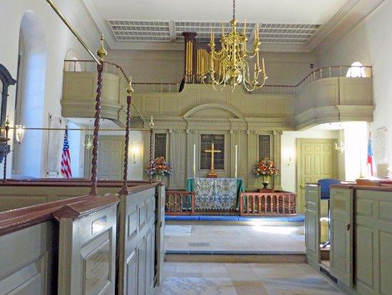 Bruton Parish Episcopal Church: Beautiful simplicity