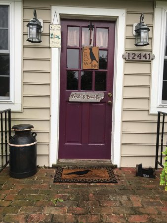 Kennedyville, MD: Front Door to B&B