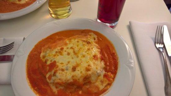 Pullach im Isartal, Tyskland: Lasagne