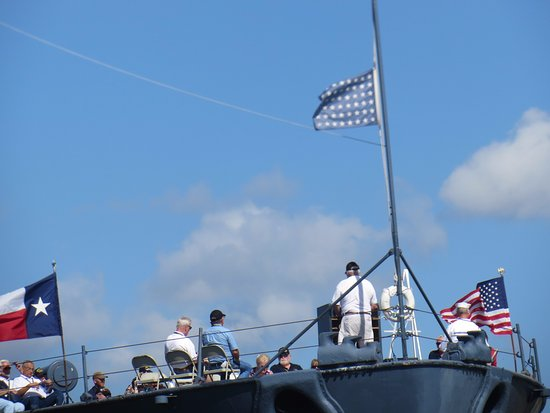 La Porte, Техас: Event on deck