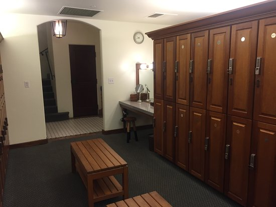 Ojai, Kalifornia: Spa ladies' locker room