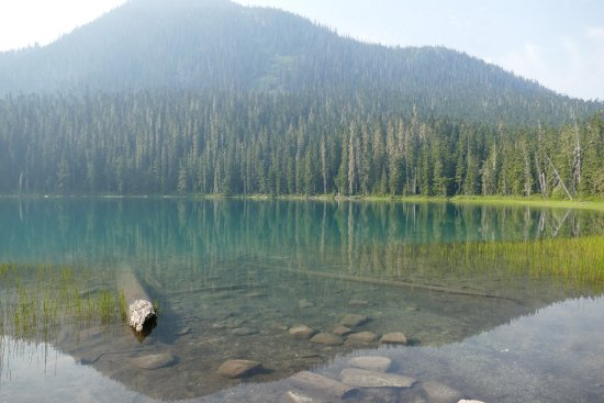 Pemberton, Canadá: Bottom lake