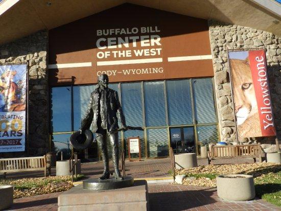 Buffalo Bill Historical Center : The entrance