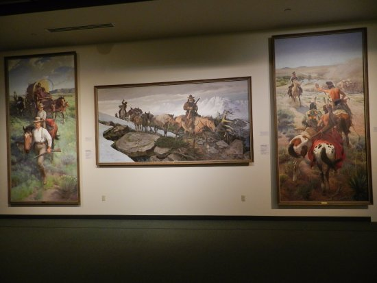 Buffalo Bill Historical Center : Some paintings