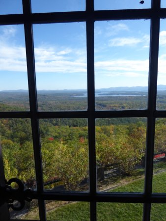 Moultonborough, NH: View from upstairs