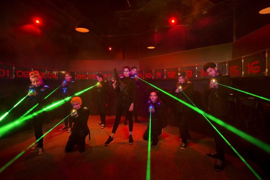 Biggest Laser Tag In Thailand With Over 100 Battlesuits