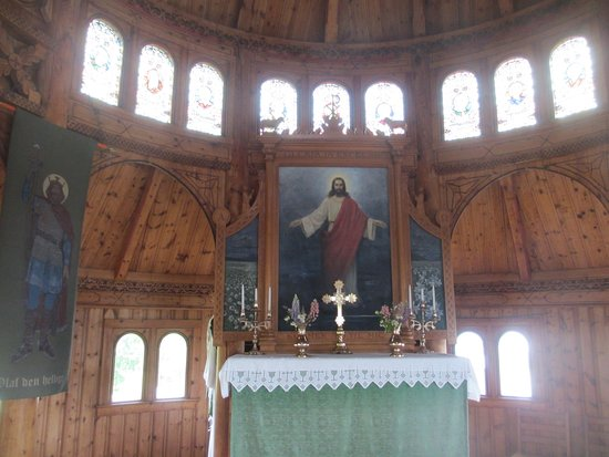 Balestrand, Norway: St. Olav's Church