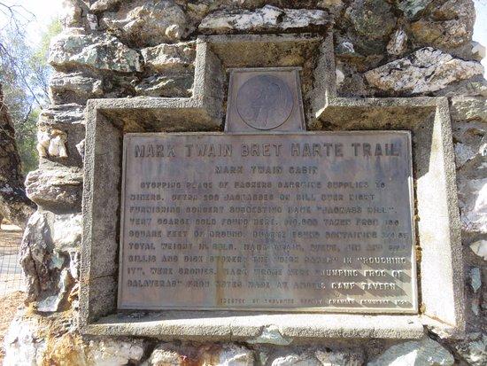 Tuolumne, CA: Sign regarding name the hill