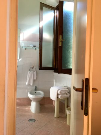 "Hotel Vasari Palace: Step up bathroom. Clean, but shower is tiny (I'm 5'9"", 145#)."