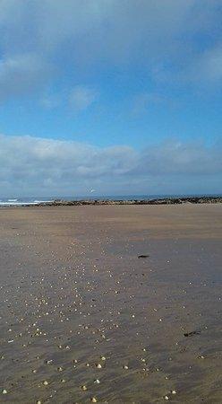 Gullane Beach: The beach