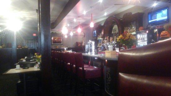 Montpelier, Vermont: great Deco bar