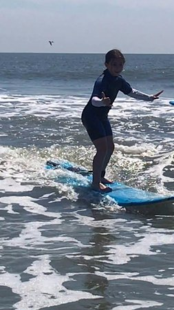 a7b92b3815 Kids having fun surfing! - Picture of Adventure Surf Lessons and ...