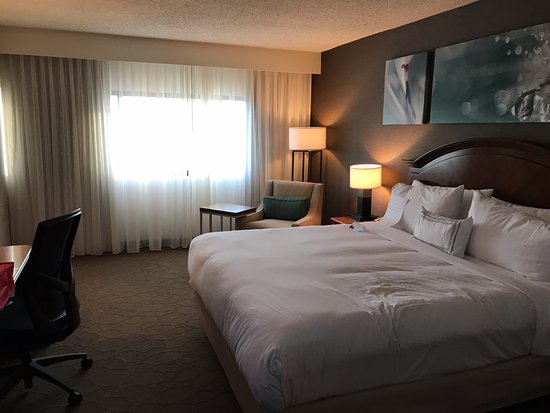 Delta Hotels by Marriott Racine: Standard king with very comfy bed!!