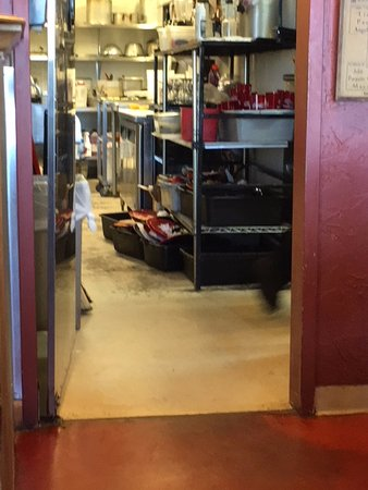 Peyton, CO : They need to hire a dishwasher - get plates off the floor!