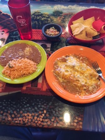 Peyton, CO : Be Hungry! Large portions!
