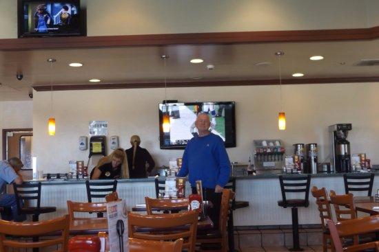 Denny's: Bar area