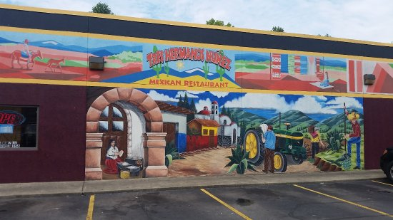 Ashland, KY: This beautiful mural is displayed on the front of our building