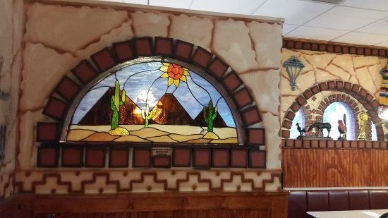 Ashland, KY: A beautiful stained glass window personally made by one of our customers