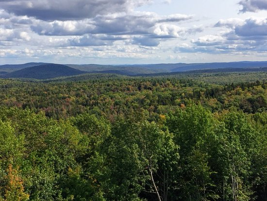 Wilmington, VT: The leaves are just beginning to change