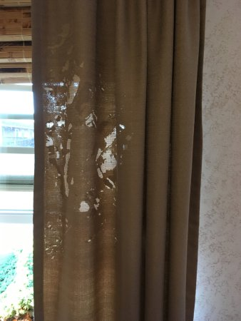 "Kane, PA: ""Black out curtains"" weirdly threadbare in spots."