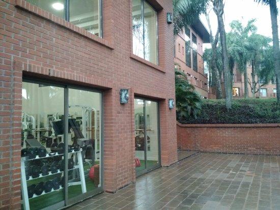 Iguazu Grand Resort, Spa & Casino: sector del gimnasio