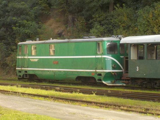 Jindrichuv Hradec, Czech Republic: Heritage loco