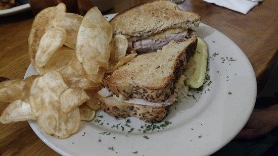 """Slippery Rock, PA: """"Rachael on the Trail"""" Sandwich"""