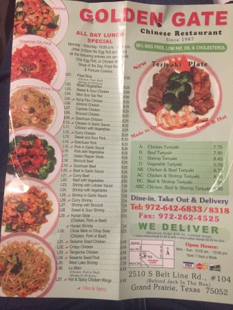 Chinese Restaurants In Grand Prairie Texas