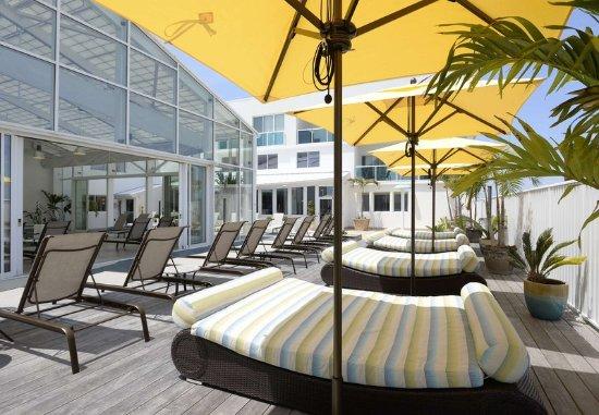 Courtyard Ocean City Oceanfront : Indoor Pool - Day Beds