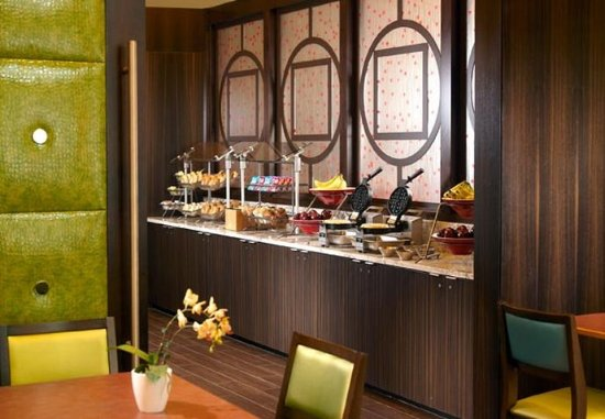 Fairfield Inn & Suites by Marriott Washington, DC/Downtown: Breakfast Area