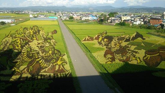 Inakadate-mura, Japan: 天守展望台