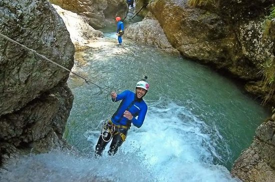 Exciting half-day Canyoning adventure...