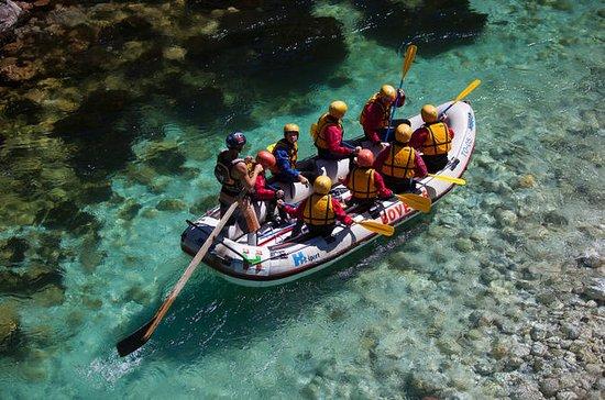 Great family fun Rafting trip on Soca...