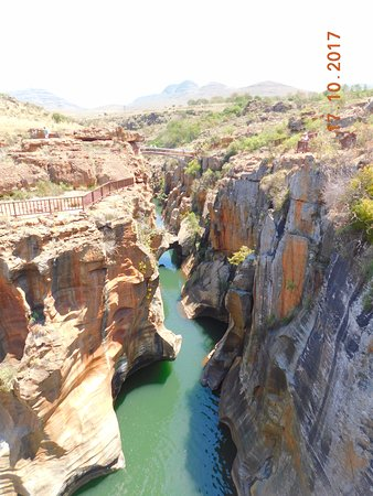 Limpopo Province, South Africa: Bourke's Luck portholes